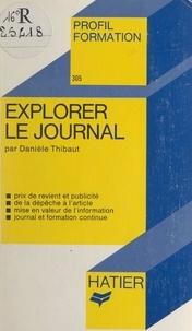Danièle Thibaut et Georges Décote - Explorer le journal.