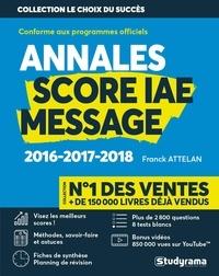 Téléchargements de livres électroniques gratuits en ligne Score IAE Message  - 3 ans d'annales corrigées en francais DJVU MOBI CHM 9782759040889