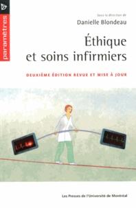 Danielle Blondeau - Ethique et soins infirmiers.