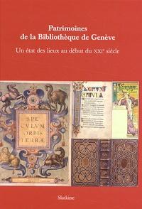 Rhonealpesinfo.fr Patrimoines de la Bibliothèque de Genève - Un état des lieux au début du XXIe siècle Image