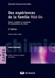 Danielle Cachau-Herreillat - Des expériences de la famille Réd-Ox - Réussir, exploiter et commenter : 81 manipulations de chimie.