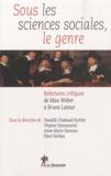 Danielle Chabaud-Rychter et Virginie Descoutures - Sous les sciences sociales, le genre.