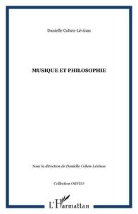 Danielle Cohen-Levinas et  Collectif - Orfeo N° 2 : Musique et philosophie.