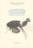 Danielle Defaye et Nicolas Rabet - Atlas et biliographie des crustacés branchiopodes de France métropolitaine.