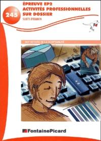 Histoiresdenlire.be Epreuve EP2 activités professionnelles sur dossier BEP comptabilité. Sujets d'examens Image