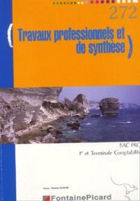 Danielle Delpeyré - Travaux professionnels et de synthèse Bac Pro 1e et Tle Comptabilité.