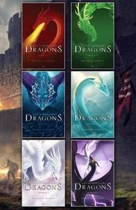 Danielle Dumais - Les 5 derniers dragons  : Coffret Numérique Intégral - Les 5 derniers dragons (12 tomes).