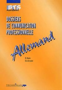 Danielle Heyte et Ch Arrandel - Dossiers de communication professionnelle Allemand BTS Assistant.