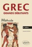 Danielle Jouanna - Grec - Grands débutants.