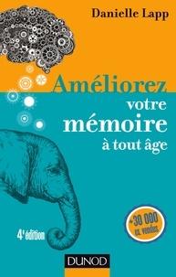 Danielle Lapp - Améliorez votre mémoire à tout âge.
