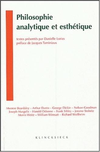 Danielle Lories - Philosophie analytique et esthétique.