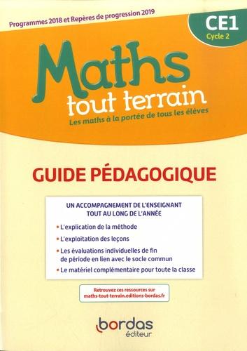 Danielle Louzoun et Xavier Amouyal - Mathématiques CE1 Cycle 2 Maths tout terrain - Guide pédagogique.