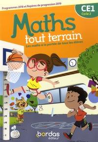 Danielle Louzoun et Xavier Amouyal - Maths tout terrain CE1 cycle 2 - Fichier de l'élève.