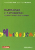 Danielle Roux-Sitruk et Albert-Claude Quemoun - Phytothérapie et homéopathie : conseils et associations possibles.