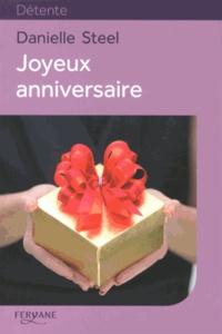 Joyeux Anniversaire Danielle Steel Decitre 9782363601728 Livre