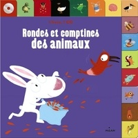Dankerleroux et Lynda Corazza - Rondes et comptines des animaux. 1 CD audio