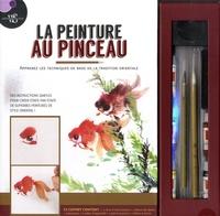 Danny Han-Lin Chen - La peinture au pinceau - Avec 1 livre d'instructions, 1 album de dessin, 2 pinceaux, 5 tubes d'aquarelle, 1 pierre à encre, 1 bâton à encre.