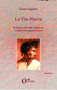 Dante - Vita nuova (Dante) - Traduction de l'italien et édition de Gianfranco Stroppini de Focara.