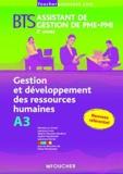Dany Deschamps - Gestion et développement des ressources humaines BTS Assistant de gestion de PME-PMI 2e année A3.