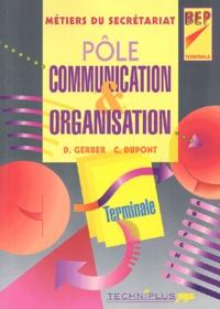 Dany Gerber et C Dupont - Pôle communication & organisation Terminale BEP secrétariat.