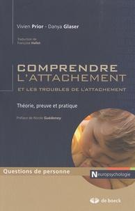 Danya Glaser et Vivien Prior - Comprendre l'attachement et les troubles de l'attachement - Théorie, preuve et pratique.