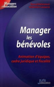 Daoud Belaroussi - Manager des bénévoles - Animation d'équipes, cadre juridique et fiscalité.