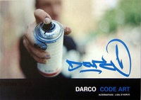 Darco - Darco code art - Edition bilingue français-anglais.