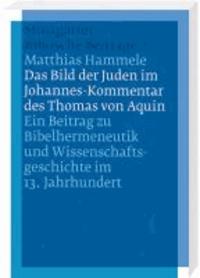 Das Bild der Juden im Johannes-Kommentar des Thomas von Aquin - Ein Beitrag zu Bibelhermeneutik und Wissenschaftsgeschichte im 13. Jahrhundert.