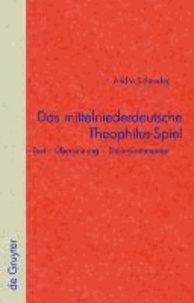 Das mittelniederdeutsche Theophilus-Spiel - Text - Übersetzung - Stellenkommentar.