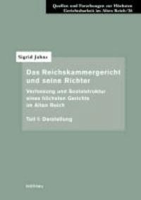 Das Reichskammergericht und seine Richter 1 - Darstellung.