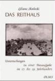 Das Reithaus - Untersuchungen zu einer Bauaufgabe im 17. bis 19. Jahrhundert.