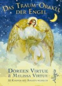 Das Traum-Orakel der Engel - 55 Karten mit Begleitbuch.