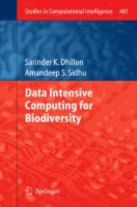 Data Intensive Computing for Biodiversity.