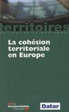 DATAR - La cohésion territoriale en Europe.