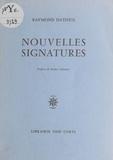 Datheil - Nouvelles signatures.