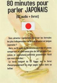 Jean-Pierre Vasseur - 80 minutes pour parler japonais - CD audio + livret.