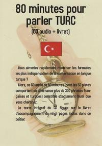 Jean-Pierre Vasseur - 80 minutes pour parler turc - CD audio.