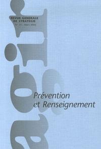 Pierre Conesa et Bernard Carayon - Agir N° 25 Mars 2006 : Prévention et renseignement.