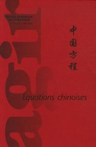 Wu Jianmin et Michel Jan - Agir N° 26/27, Mai 2006 : Equations chinoises.