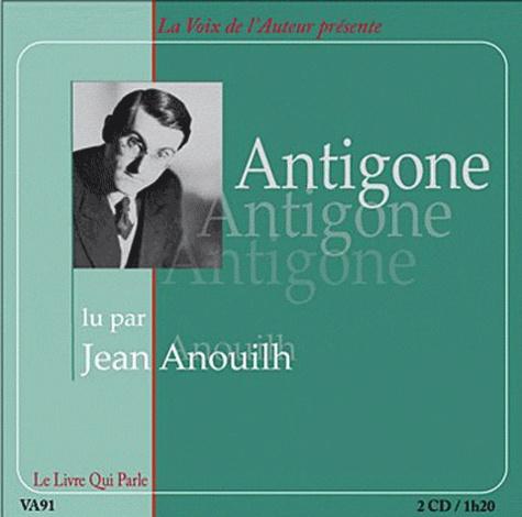 Jean Anouilh - Antigone. 2 CD audio