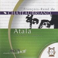 François-René de Chateaubriand - Atala. 1 CD audio MP3