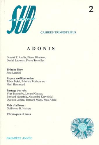 Dimitri-T Analis et  Collectif - Autre Sud N° 2, Septembre 1998 : Adonis.