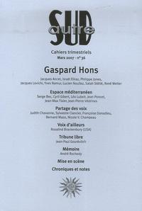 Gaspard Hons et Yves Namur - Autre Sud N° 36, Mars 2007 : Gaspard Hons.
