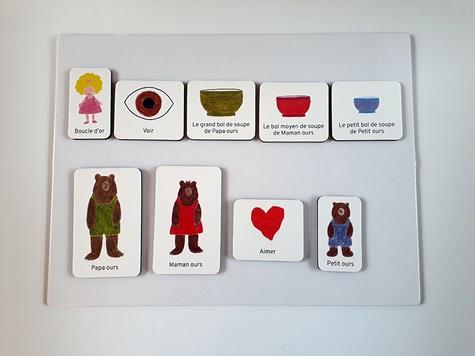 Boucle d'or et les 3 ours. Livre-jeu pédagogique