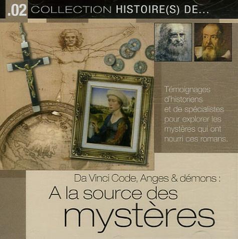 Patrick Roger et Régis Burnet - Da Vinci Code, Anges & démons : A la source des mystères - CD audio.