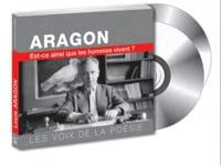 Louis Aragon - De l'innocence du poème à la chanson. 2 CD audio