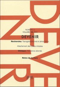 Massimo Ammaniti et Loredana Lucarelli - Devenir Volume 16 N° 3/2004 : .
