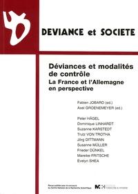 Fabien Jobard et Axel Groenemeyer - Déviance et Société Volume 29 N° 3 : Déviances et modalités de contrôle - La France et l'Allemagne en perspective.