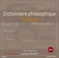 Voltaire - Dictionnaire philosophique. 1 CD audio MP3