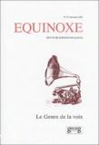 Saba Bahar et Agnese Fidecaro - Equinoxe N° 23 Automne 2002 : Le genre de la voix.